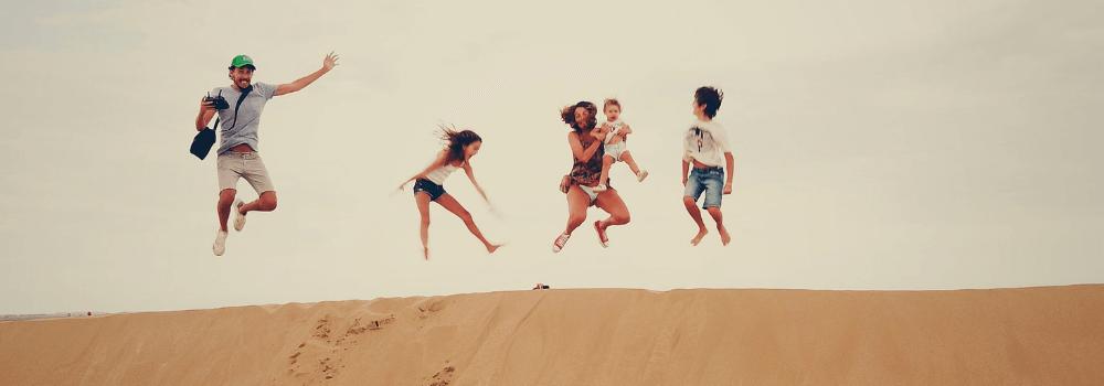 Personne qui saute