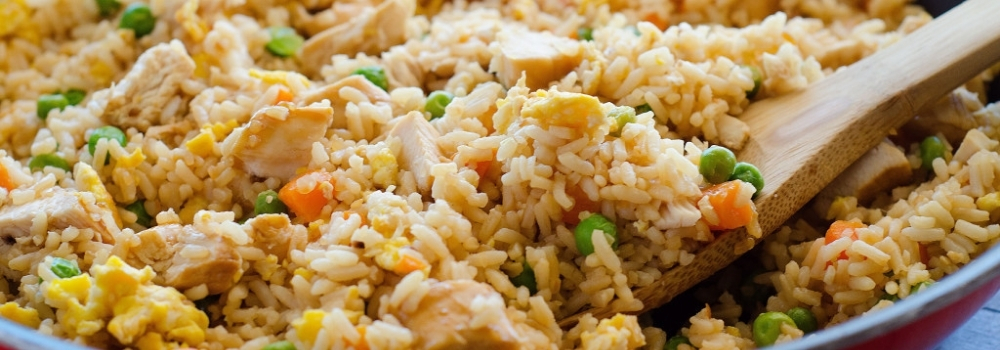 Recette riz frit
