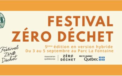 Le Festival Zéro déchet célèbre ses cinq ans!